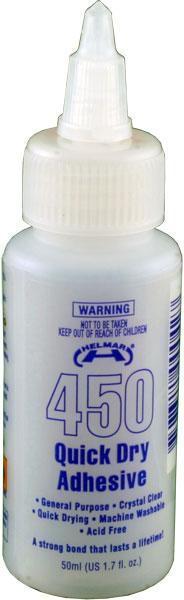 450 Quick Dry Adhesive 1.7 fl.oz.