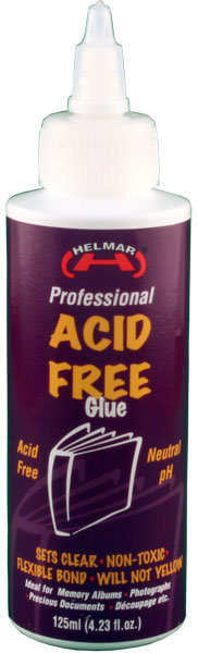 HELMAR Acid Free Glue 4.23 fl.oz.