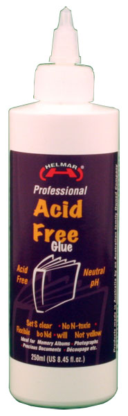 Acid Free Glue 8.45 fl.oz.