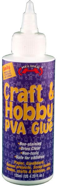 Craft & Hobby PVA Glue 4.23 fl.oz.