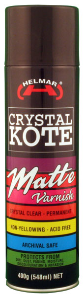 HELMAR Crystal Kote Matte Spray 14.11 oz.