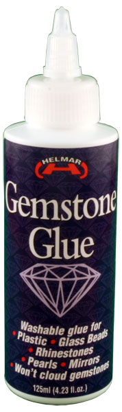 HELMAR Gemstone Glue 4.23 fl.oz.