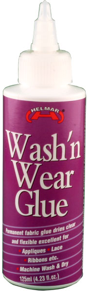 Wash'n Wear Glue 4.23 fl.oz.