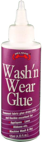 Wash'n Wear Glue 4.23 fl.oz.